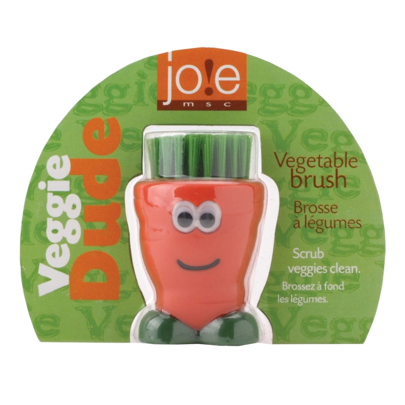Joie Veggie Dude Brush Kitchen Buddies