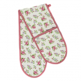 Vintage Rose Double Oven Glove