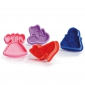 Kilo Girls Biscuit Cutter Set