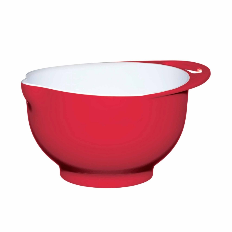 Colourworks Melamine Two Tone Mixing Bowl 3 Litre