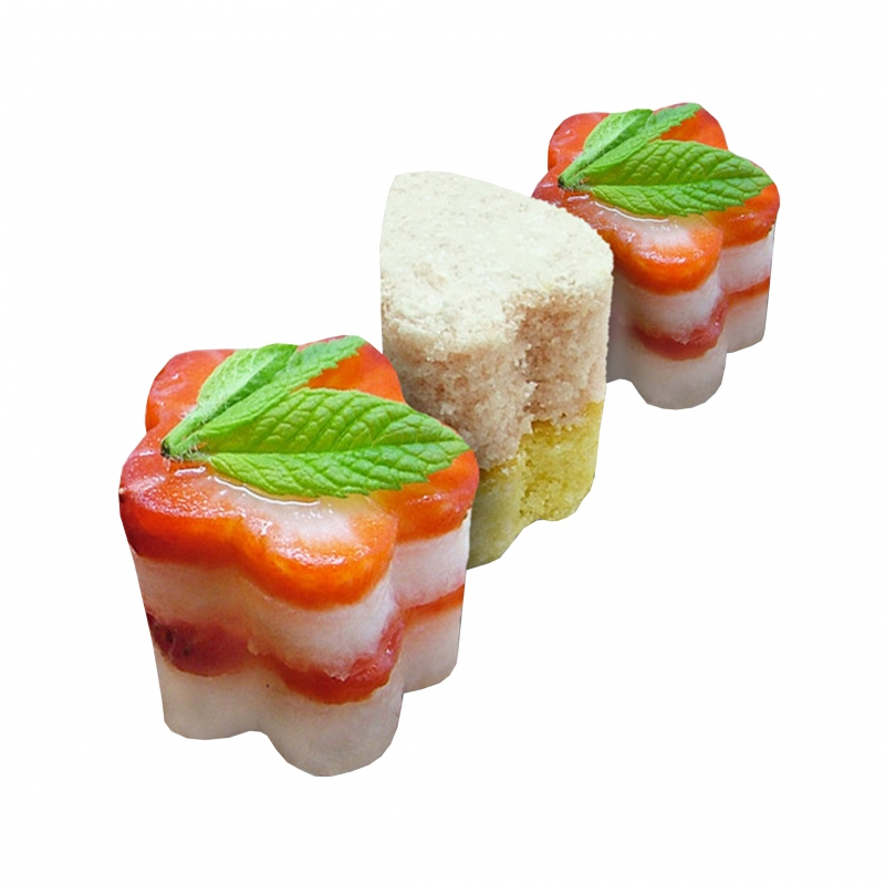 Neat ideas crafty cutters for canapes kitchen buddies for Canape suggestions