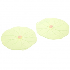 Charles Viancin Silicone Lilypad Drinks Covers - 2pk