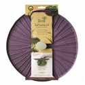 Zeal Reflecting Nature - Mushroom Silicone Bowl & Pan Self Sealing Lid