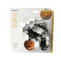 Halloween Cookie Cutter Set - 4pc