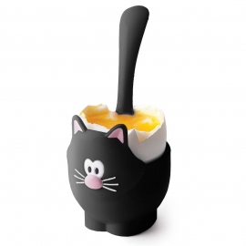 Joie Meow Egg Cup & Spoon