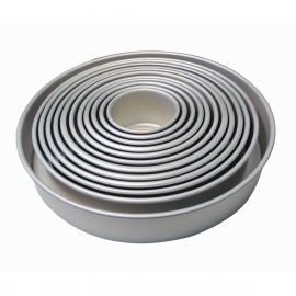 PME Round Fixed Base Cake Tins