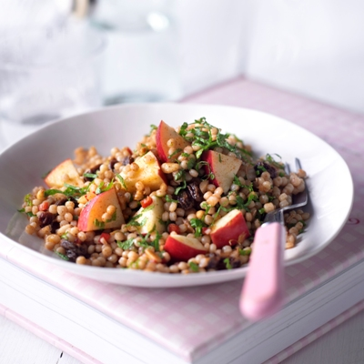 Pink Lady® Apple & Moroccan Giant Couscous Salad
