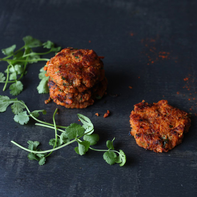 Sweet Potato & Peanut Rostis