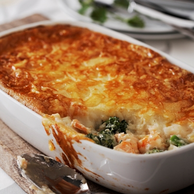 Tenderstem® and Seafood Pie